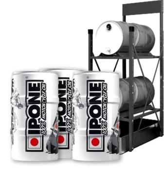 IPONE 10.4 - 3x 60 Liter Plus Fassregal